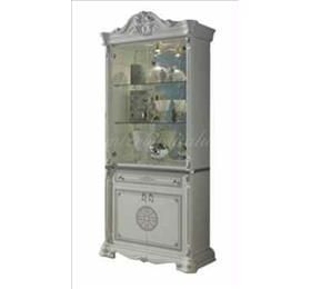 Greta White Italian 2 Door Wall Unit