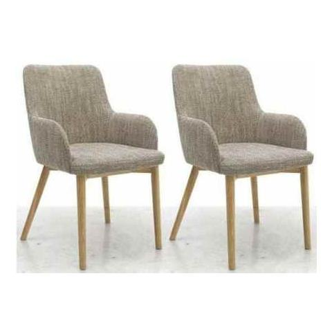 Shankar Tweed Sidcup Dining Chair (Pair)