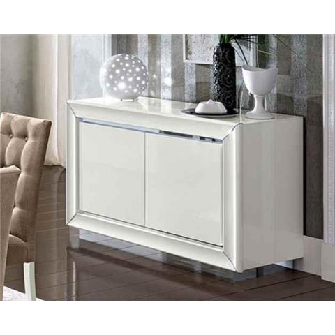 Camel Dama White Italian 2 Door Buffet