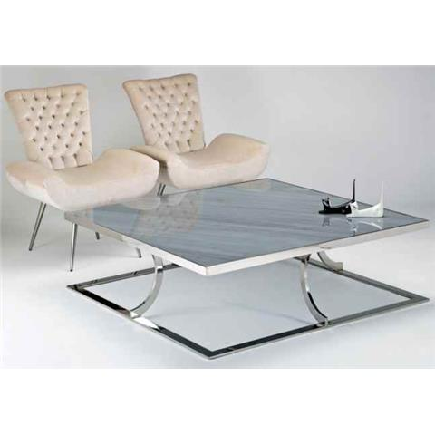 AURORA STEEL OCCASIONAL TABLES