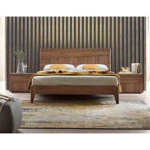 Camel Letto Storm Wooden Italian Bed