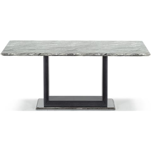 Donatella Grey Marble 160cm Dining Table