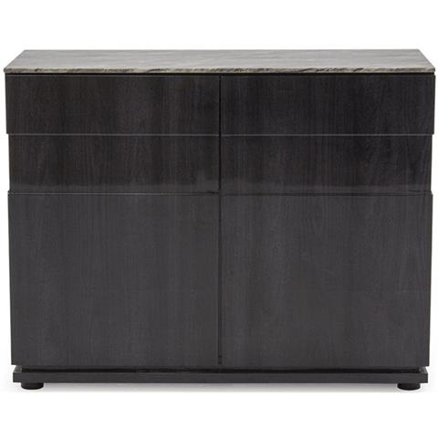 Donatella Grey Marble 2 Door Small Sideboard
