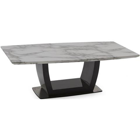 Luciana Grey Marble Coffee Table