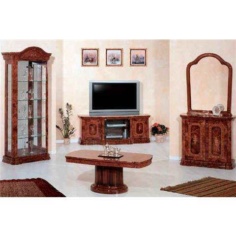 Amalfi Walnut TV Plasma Unit