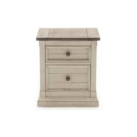 Croft 2 Drawer Night Table
