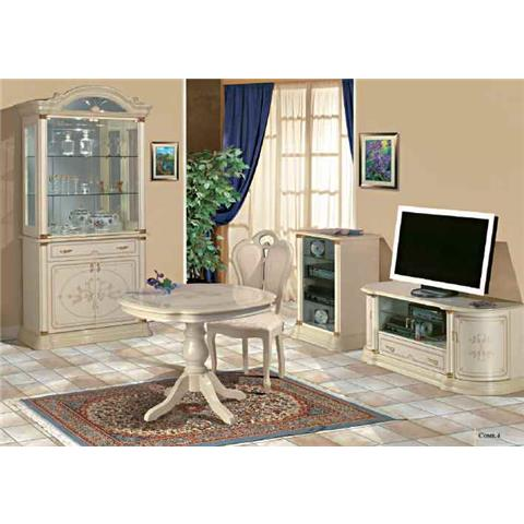 Florence Italian Cream 2 Door Wall Unit