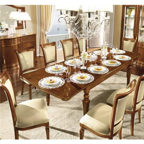 Torriani 180cm Ex Dining Set Including 6 Chairs