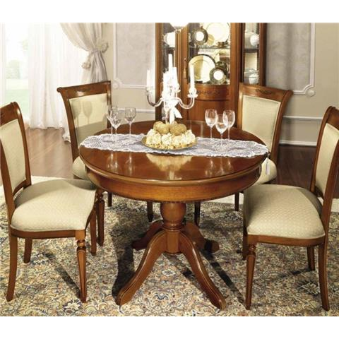 Torriani Walnut Ext Table With 4 Chairs