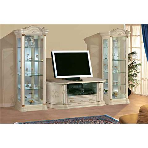 Florence Italian Cream TV Plasma Unit