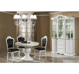 Prestige White Highgloss Dining Set