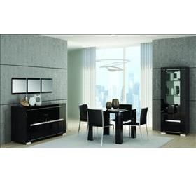 Armonia Diamond Black Highgloss Dining Collection