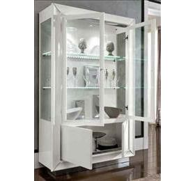 Dama Highgloss White 2 Door Wall Unit