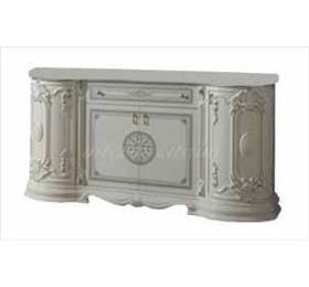 Greta White Italian 4 Door Sideboard