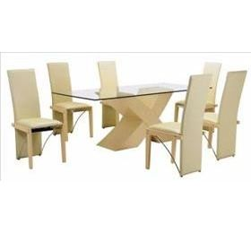ARIZONA BEECH LARGE DINING TABLE