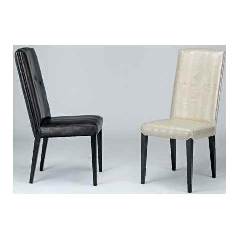 Stone International Sandy Leather Dining Chair with Wenge Legs