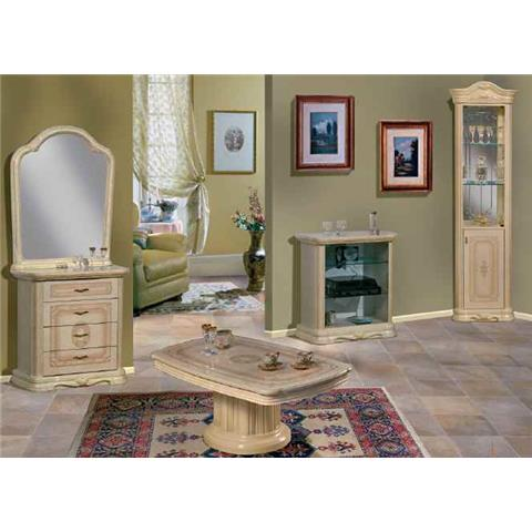 Amalfi Italian Cream & Gold Corner Unit
