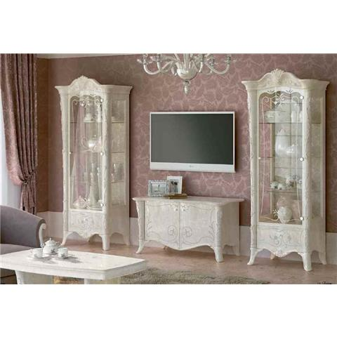 Giulietta Ivory White 1 Door Wall Unit