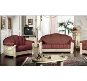 Rossella Italian Fabric 3 + 2 + 1 Sofa Set