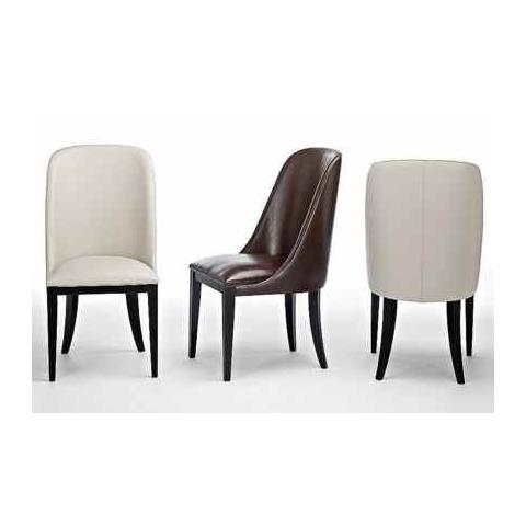 Stone International Flavia Leather Dining Chair