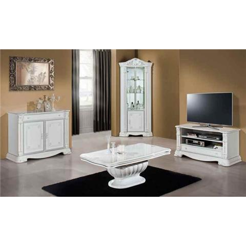 Prestige Highloss White Corner Unit