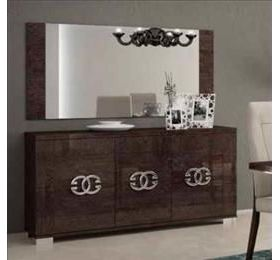 Prestige Umber Birch 3 Door Sideboard