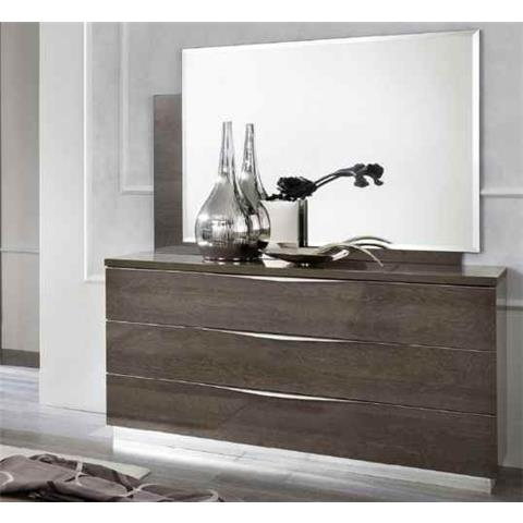 Camel Platinum Night Italian 3 Drawer Dresser