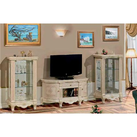 Versailles Italian Cream TV Plasma Unit
