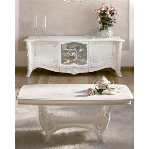 Giulietta Ivory White Coffee Table