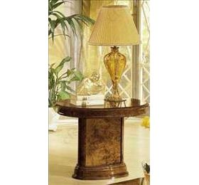 Milady Italian Walnut Lamp Table