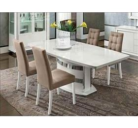 Dama Highgloss Rectangular Dining Table & 6 Chairs