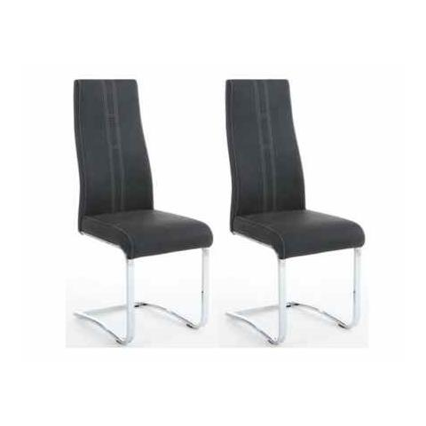 Shankar Nova Grey Dining Chair (Pair)