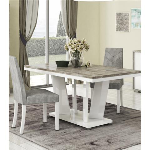 SAN MARTINO KRONOS DINING TABLE & 6 CHAIRS