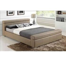 Durham '4ft 6' Stone Leather Bedframe