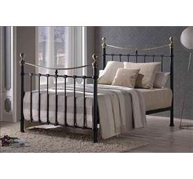 Elizabeth '4ft 6' Black Metal Bedframe