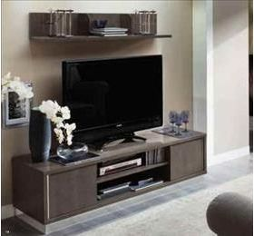 Platinum Highgloss Grey TV Plasma Lowboard