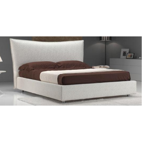 Alexia leather double  bed frame