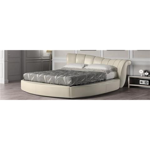 Allegrotto leather double bed