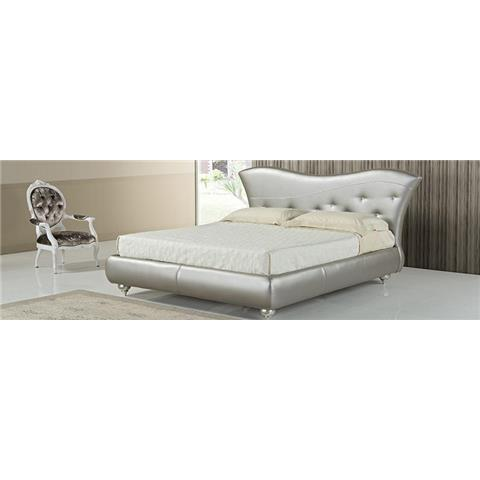 asfodelo leather double bedframe