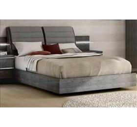 Elite Grey Birch King Size Bedframe Only