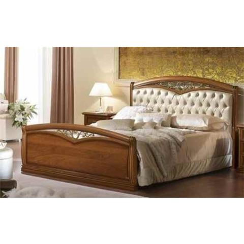 Camel Nostalgia Night Walnut Italian Fregio Legno Ring Bed