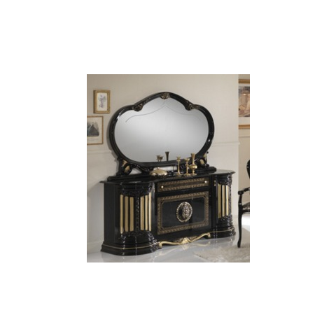 Ben Company Betty Black / Gold Finish Italian Buffet