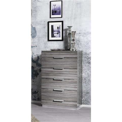 San Martino Beverly 5 Drawer Tallboy