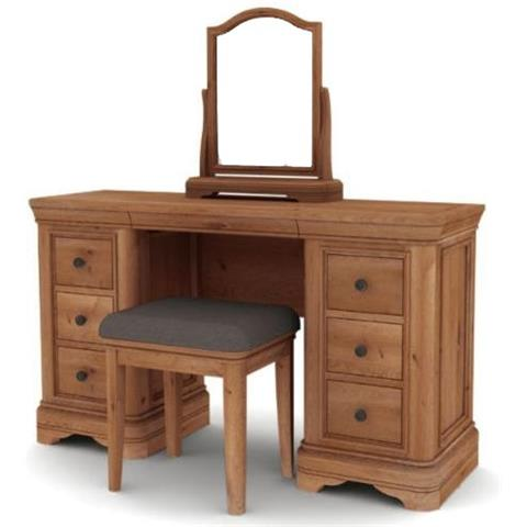 carmen solid oak dressing set