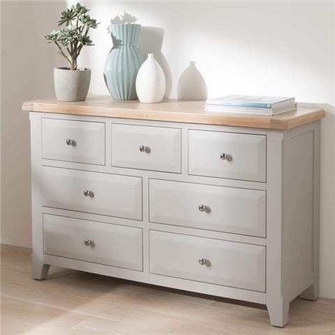 clemence solid oak dressing chest