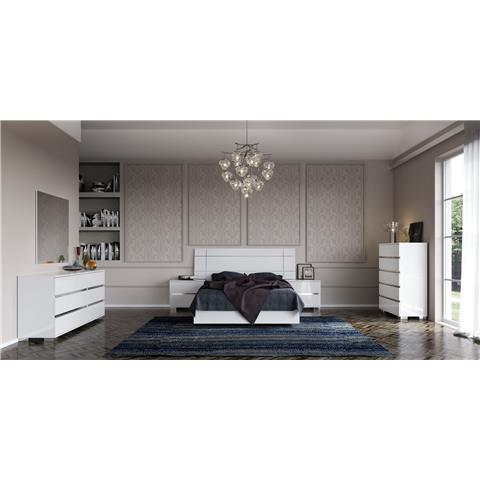 Dream white bedframe