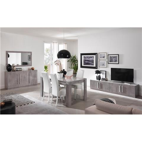 Greta Modern 3 Door Buffet Sideboard