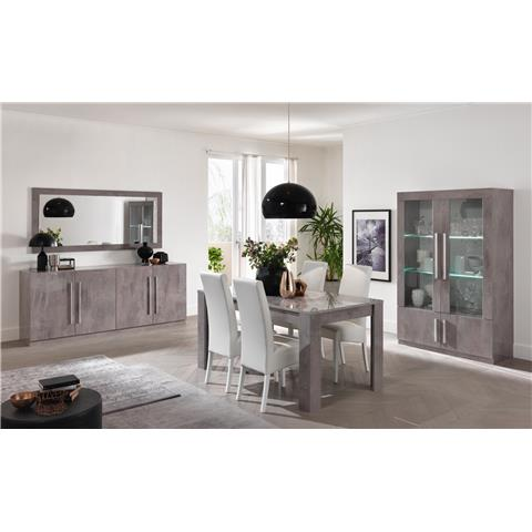 Greta Grey Modern 2 Door Wall Unit