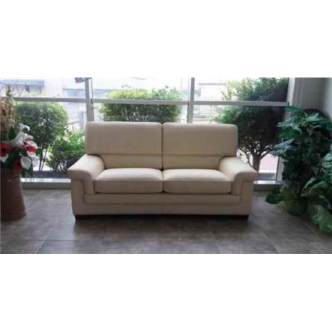 Kenzo Italian Leather 3 + 1 + 1 Sofa Suite