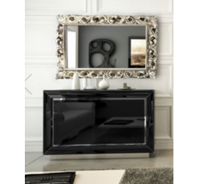 LA Star black high gloss sideboard